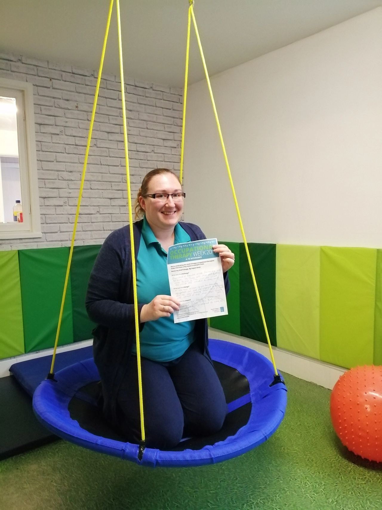 Small Change, Big Impact – Occupational Therapy Week 2019