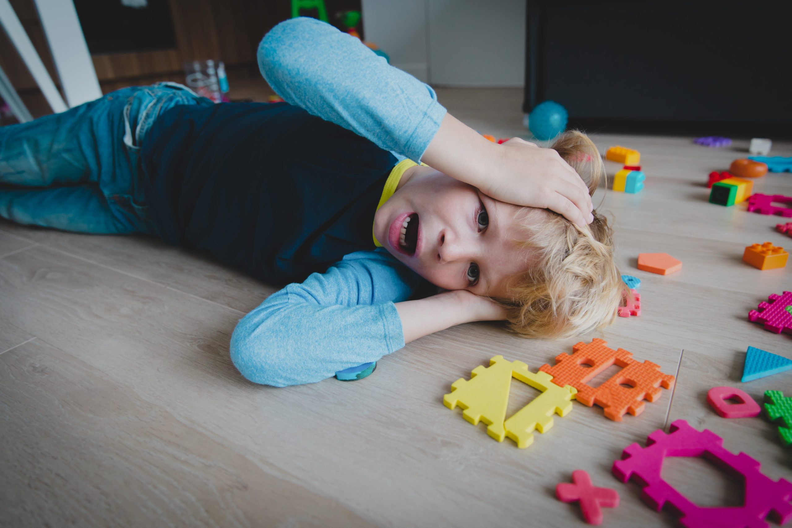 How do I deal with my child's outbursts?